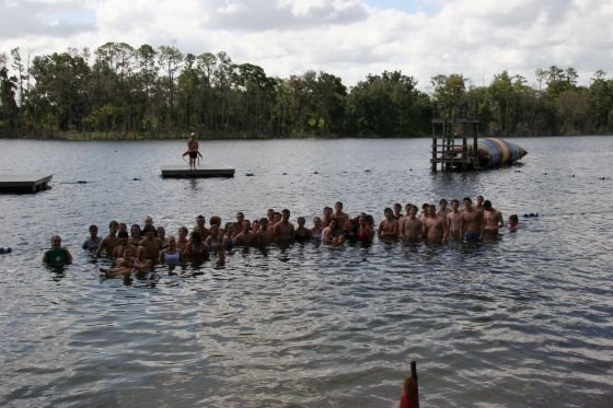 Get in the water!