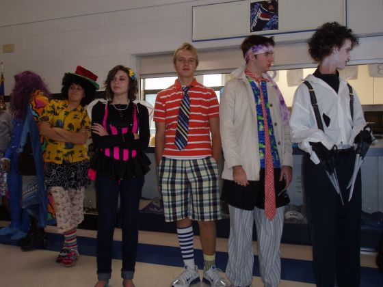 Wild and crazy lineup